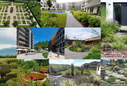 Prinášame prehľad diel nominovaných v súťaži Záhrada, park a detail roka 2020