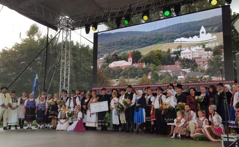 Víťazom súťaže Dedina roka 2021 je obec Kláštor pod Znievom